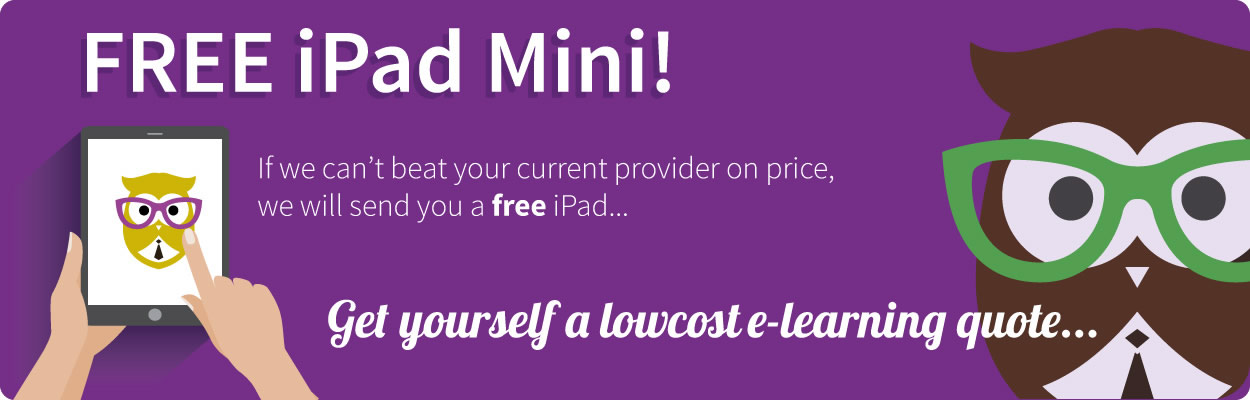 Free iPad On Your E-Learning Quote