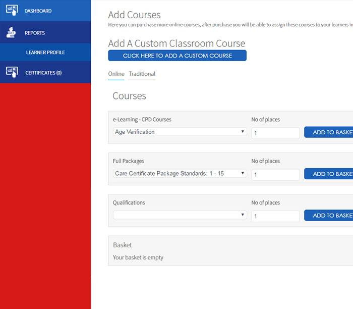 Adding New Courses